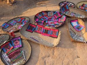 Handcrafted Lanten textiles