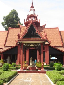 At the National Museum, Phnom Penh