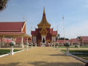 On grounds of Royal Palace, Phnom Penh