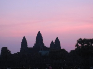 Sunrise over Angkor Wat