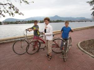 Kampot by bike