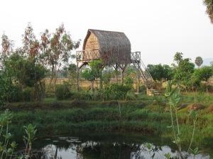 Khmer house, Ganesha