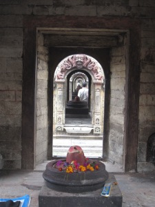 A series of 11 small temples each housing a Shiva Lingam, Pashupatinath