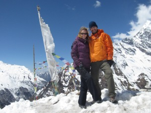 Atop Kyanjin Ri (4600m), Langtang Valley