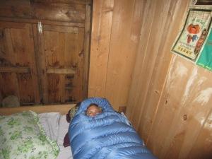 Queen of the blue caterpillars awakens, Foprang Danda
