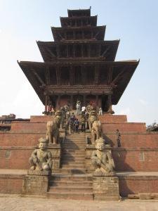 Five-storied Nyatapola Temple, Taumadhi Tole, Bhaktapur