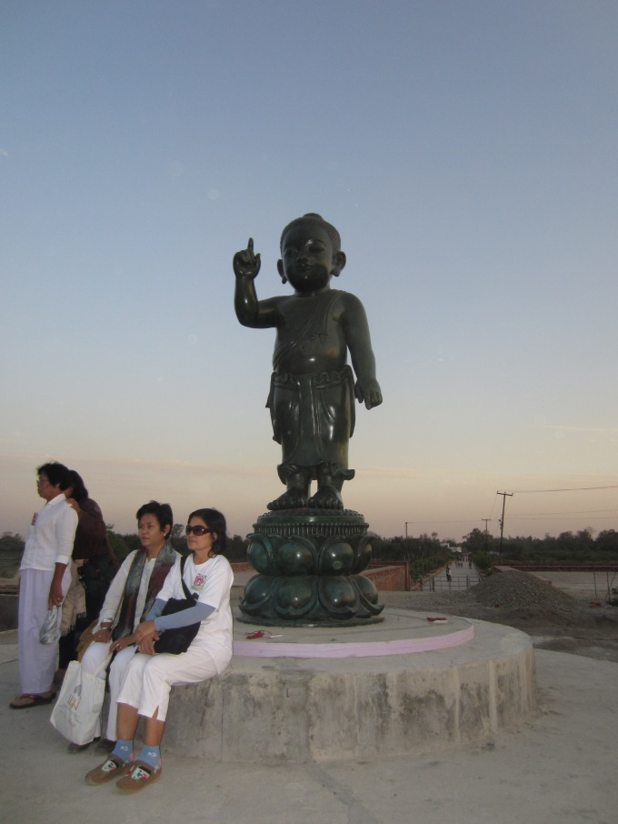 WWBD? Especially if he saw this statute of him, Lumbini