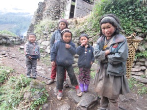 Children of Chumling, Lower Tsum Valley