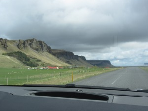 Rural Iceland from the road